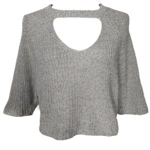 UO Silence and noise knit crop top size S